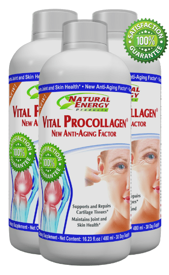 Vital Procollagen product 3 bottles